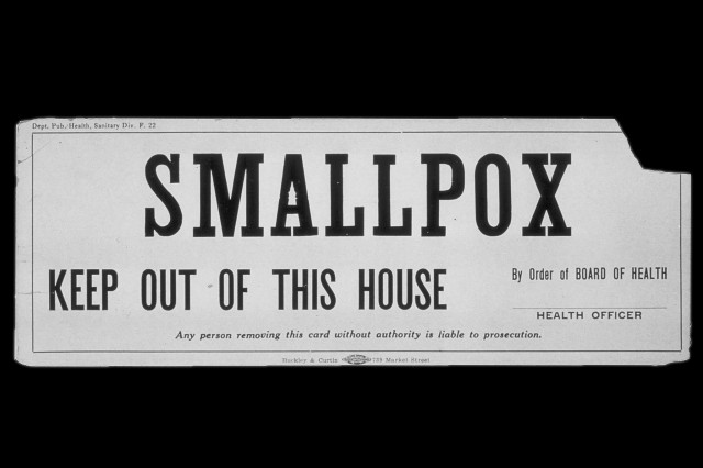 Smallpox sign