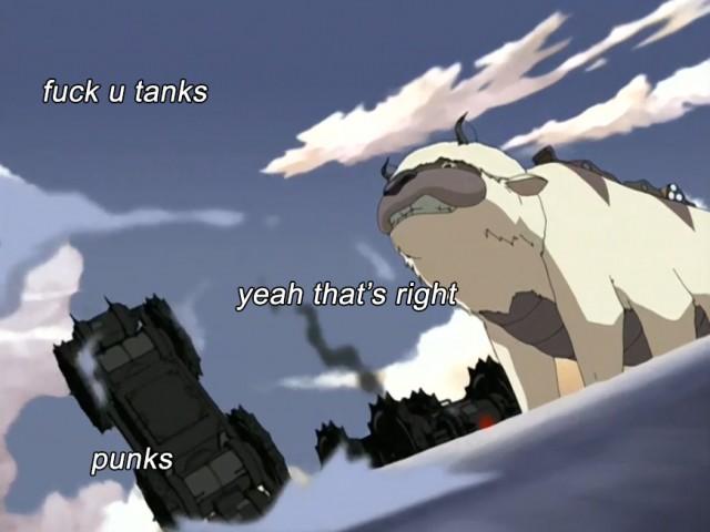 fuck u tanks