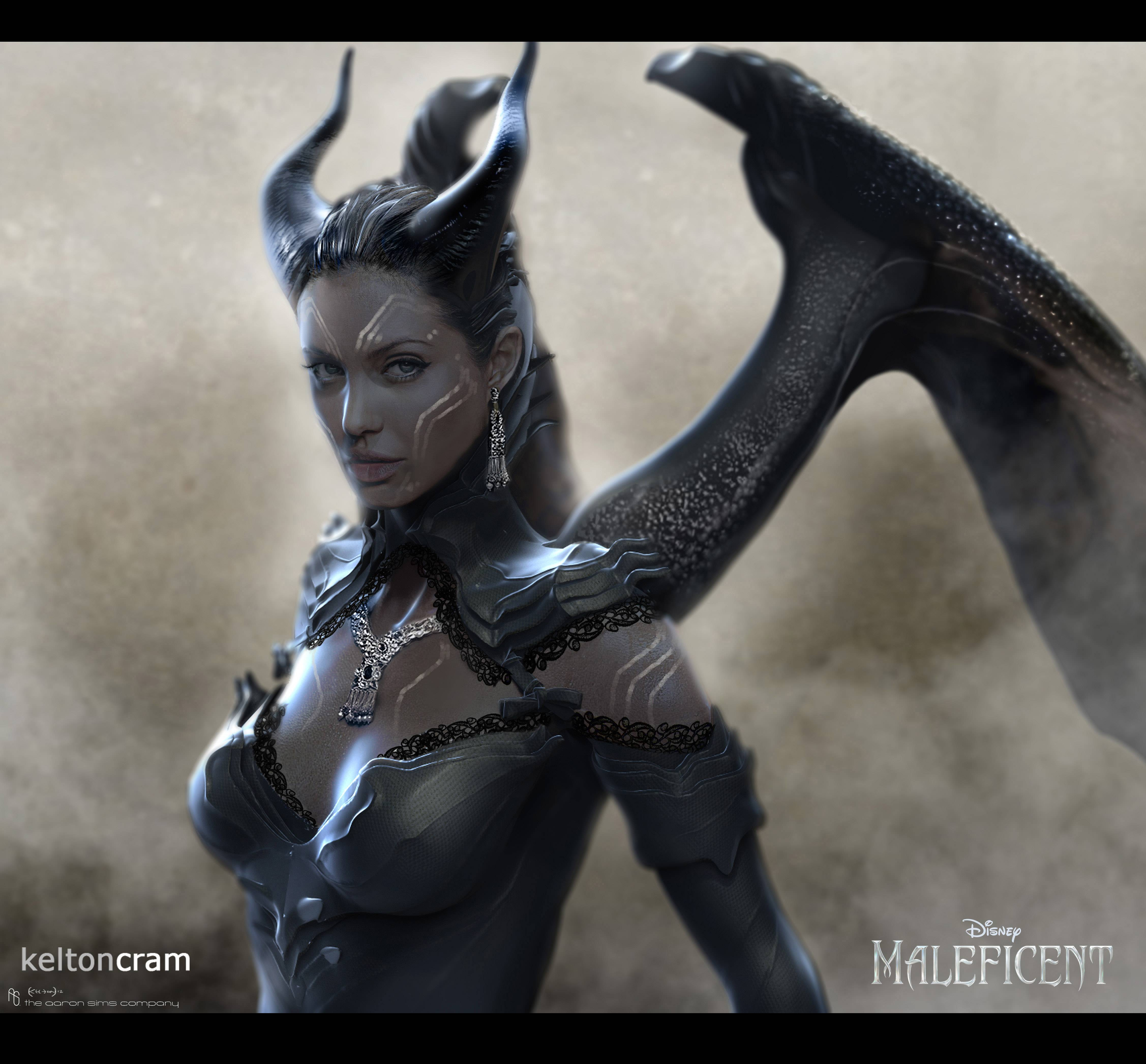 Rad Concept Art Re-Designs of Maleficent (And Also Kitty ...