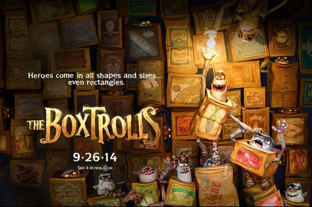 Boxtrollsposter