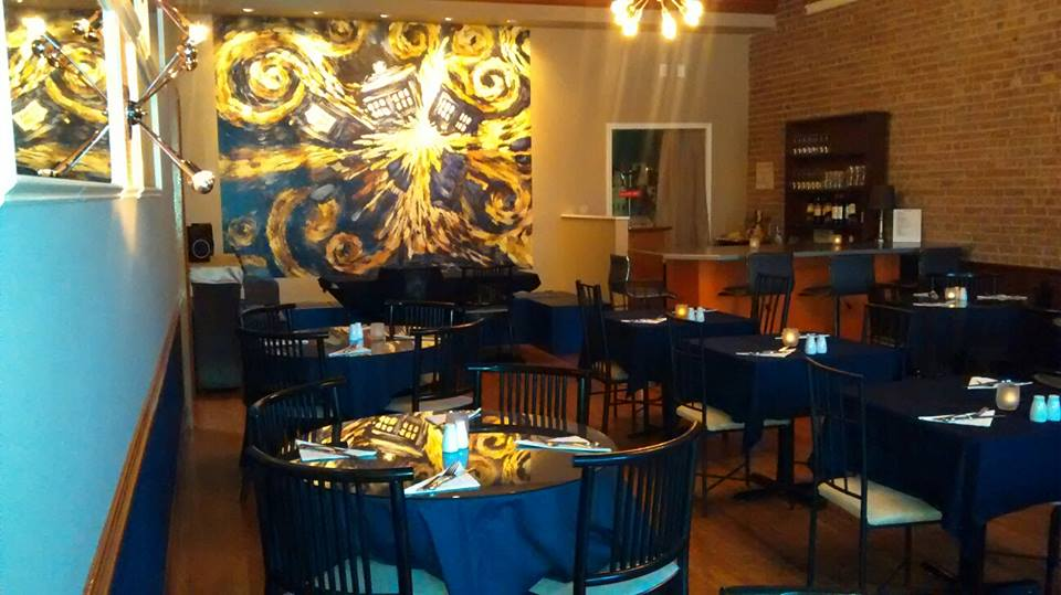Doctor Who Themed Restaurant Regenerates In New York The