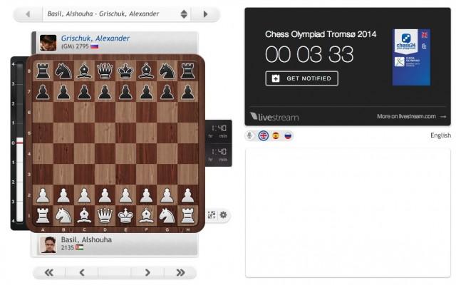 Chess Olympiad Round 1