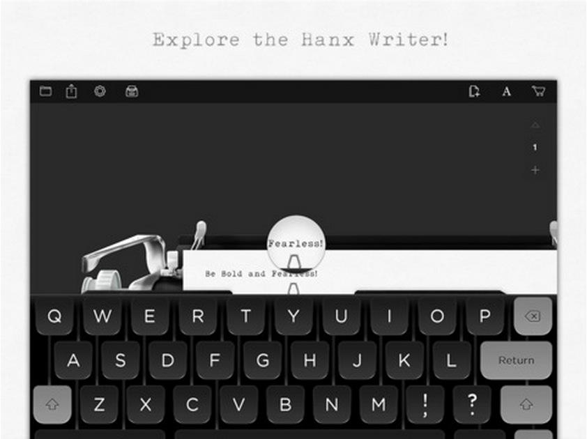Tom Hanks Typewriter App Hanx Writer Number 1 In App Store The