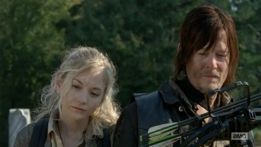 does beth and daryl dating in real life