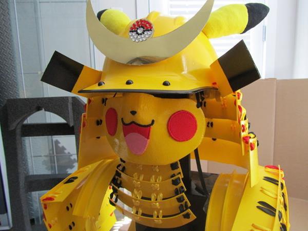 Pikachu And Hello Kitty Samurai Armor The Mary Sue