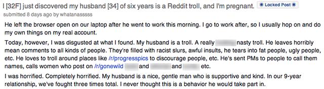 reddit troll