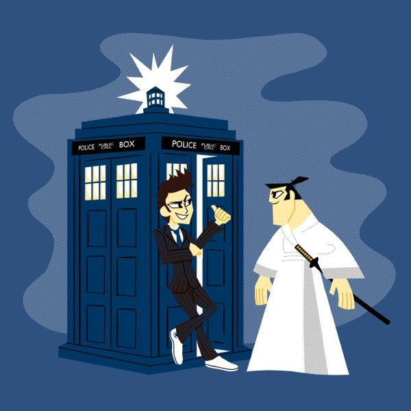 Things We Saw Today Samurai Jack Teams Up With The Doctor The