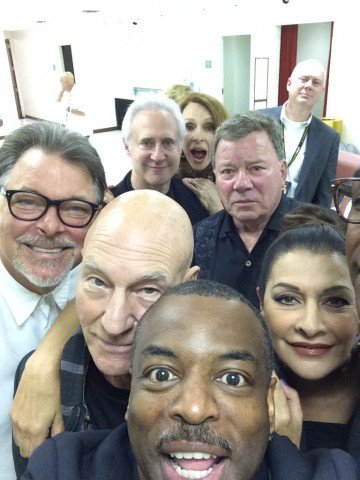 tng reunion selfie