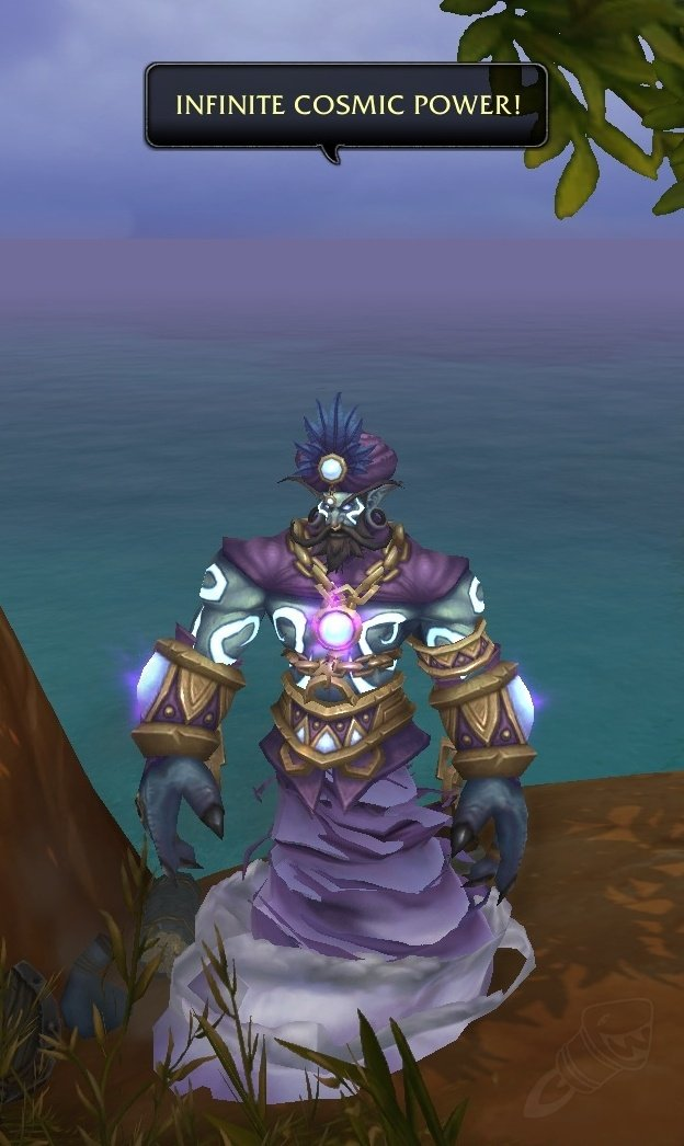 First Robin Williams In Game World Of Warcraft Memorial