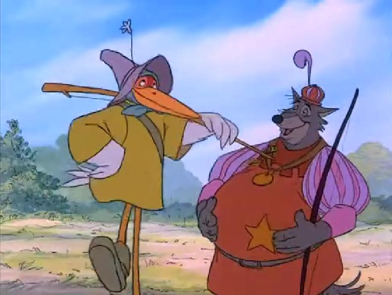 Cartoon Sheriff Big Hat Dog