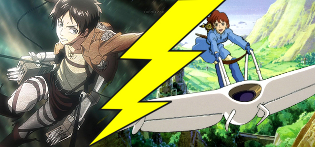 Attack on Titan vs Nausicaa Anime Apocalypse | The Mary Sue
