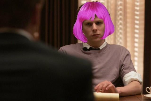 jesse eisenberg wig