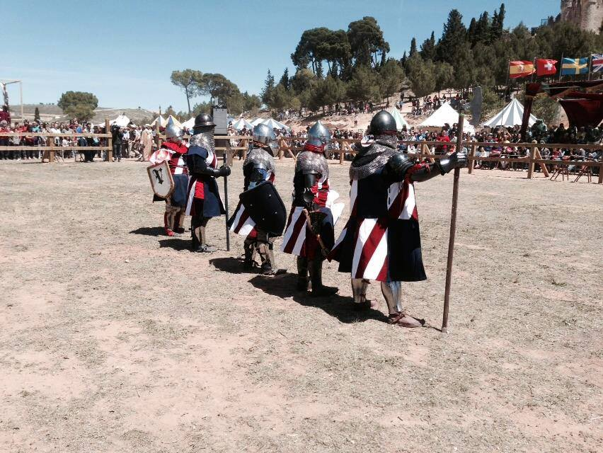 Medieval Full-Contact Steel Fighter Sandra Lagnese Bohurts | The