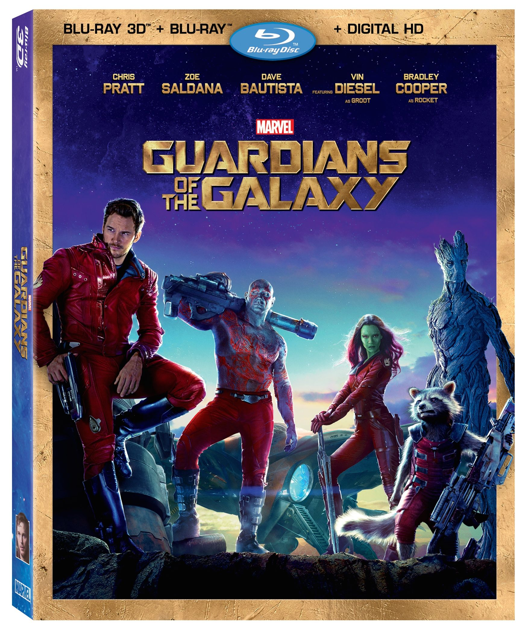 The guardians of the galaxy dvd amp blu ray have an avengers 2 sneak