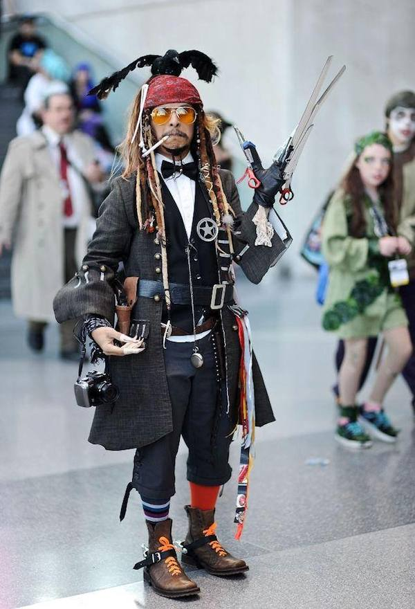 Things We Saw Today Cosplaying Every Johnny Depp Character The