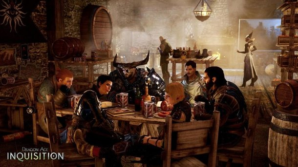 Dragon Age: Inquisition Meets The Avengers In This Actual Official BioWare Game Art