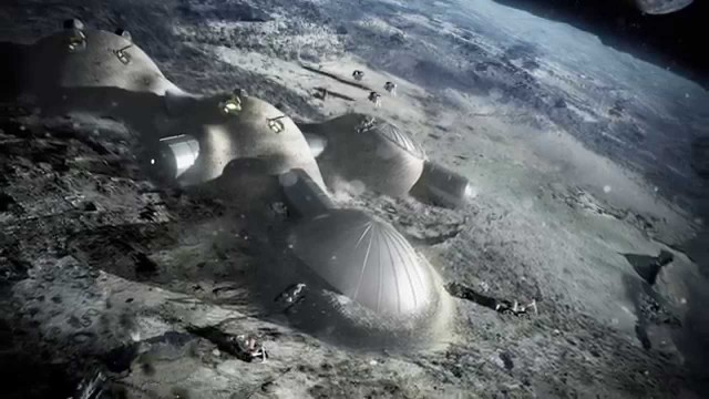 The European Space Agency's Not-So-Crazy Plan to 3D Print a Base on the Moon