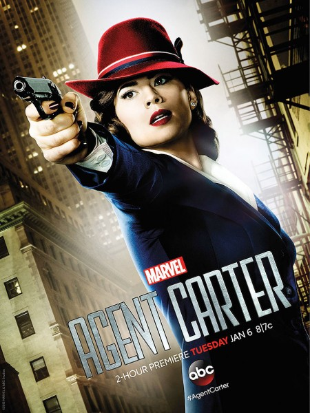 """Hayley Atwell Has a Message for Marvel Studios about Agent Carter: """"Give Me a Movie!"""""""
