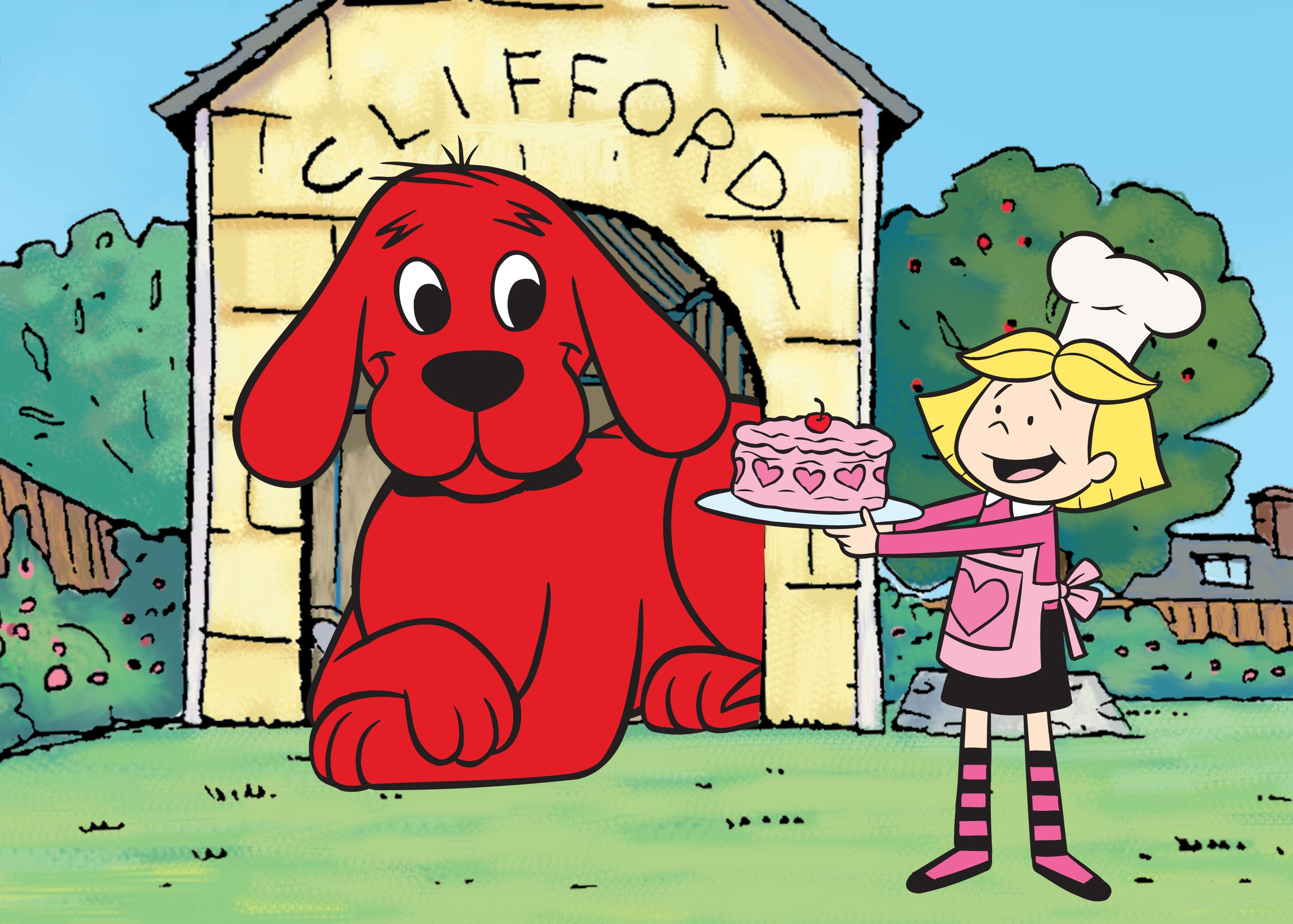 Mary Clifford The Big Red Dog