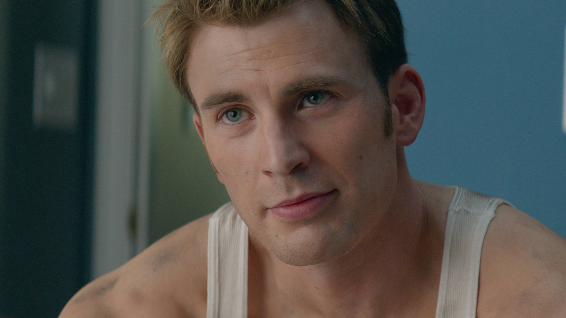 Chris evans captain america body obvious