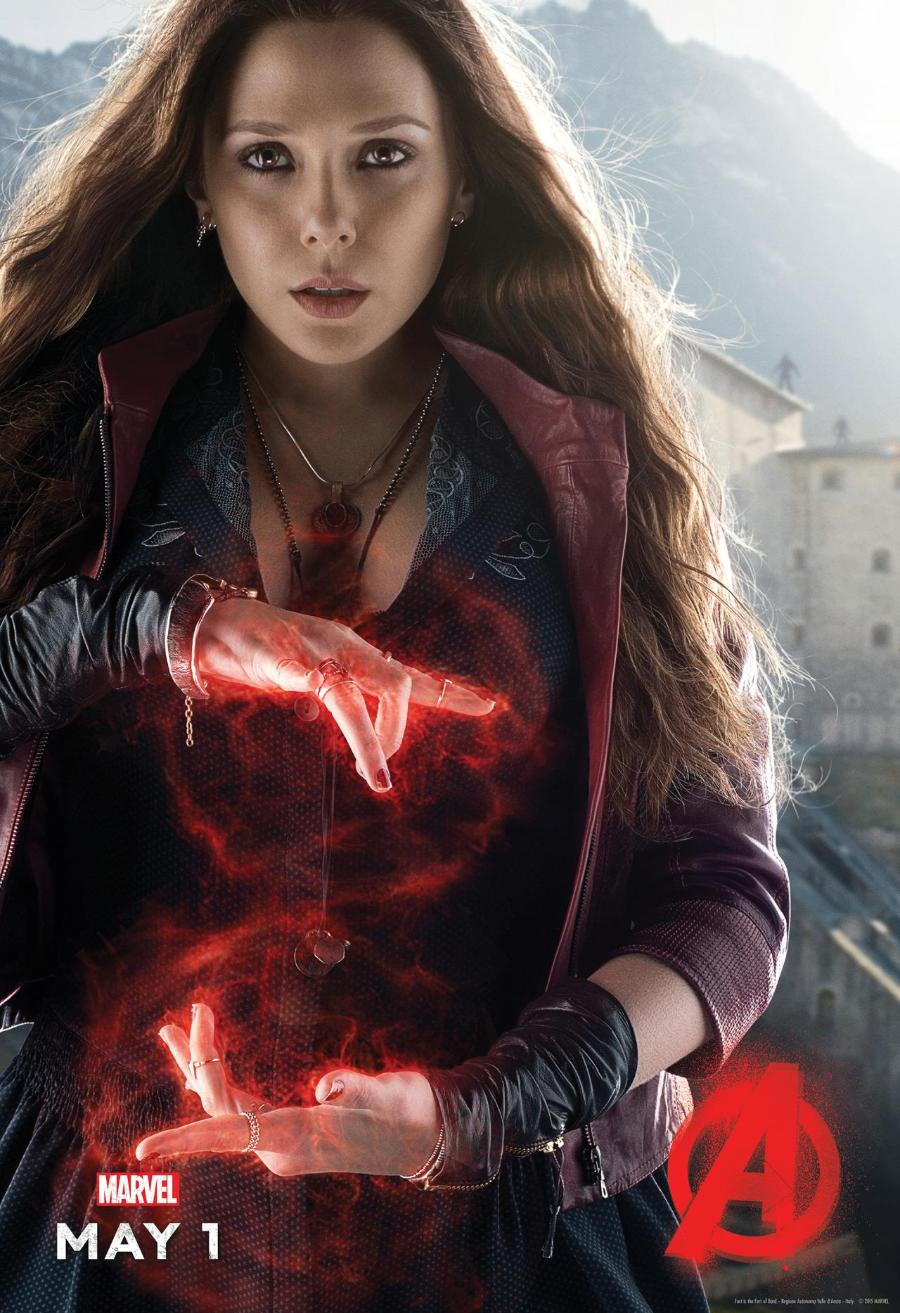 The Avengers 2 Quicksilver And Scarlet Witch