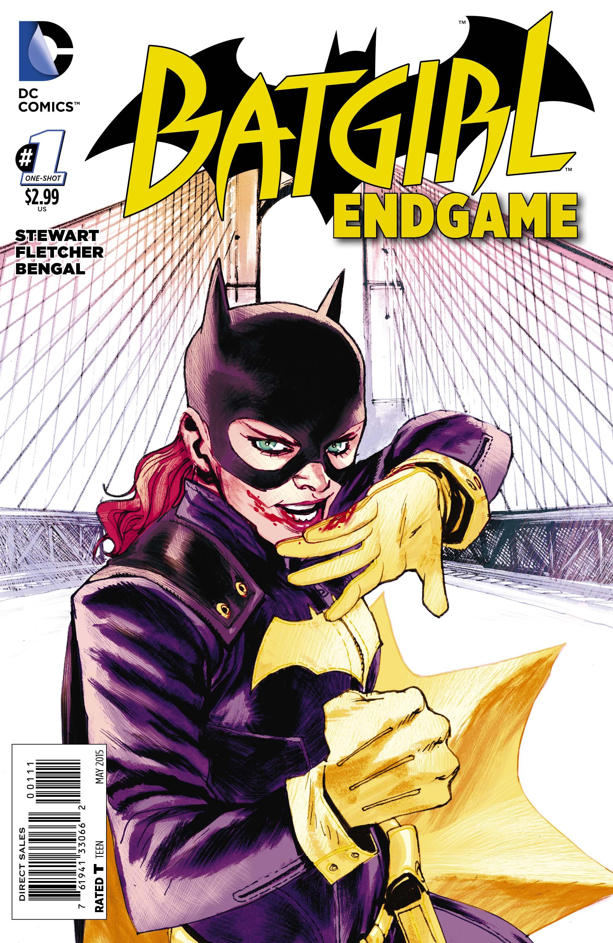 Batgirl Defeated Batgirl endgame cover