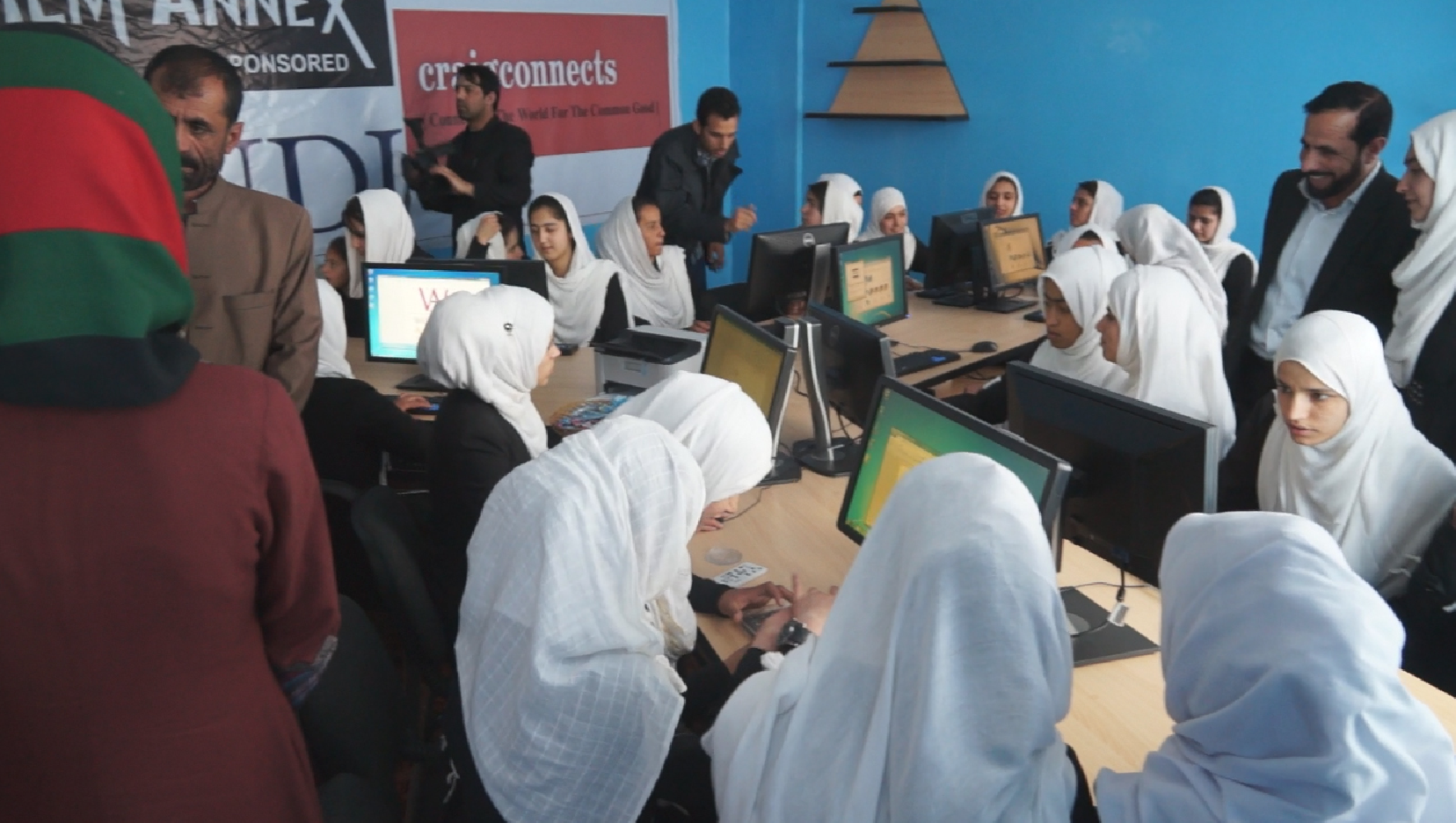 Finally, Computer Classes and Digital Literacy for Girls in Afghanistan