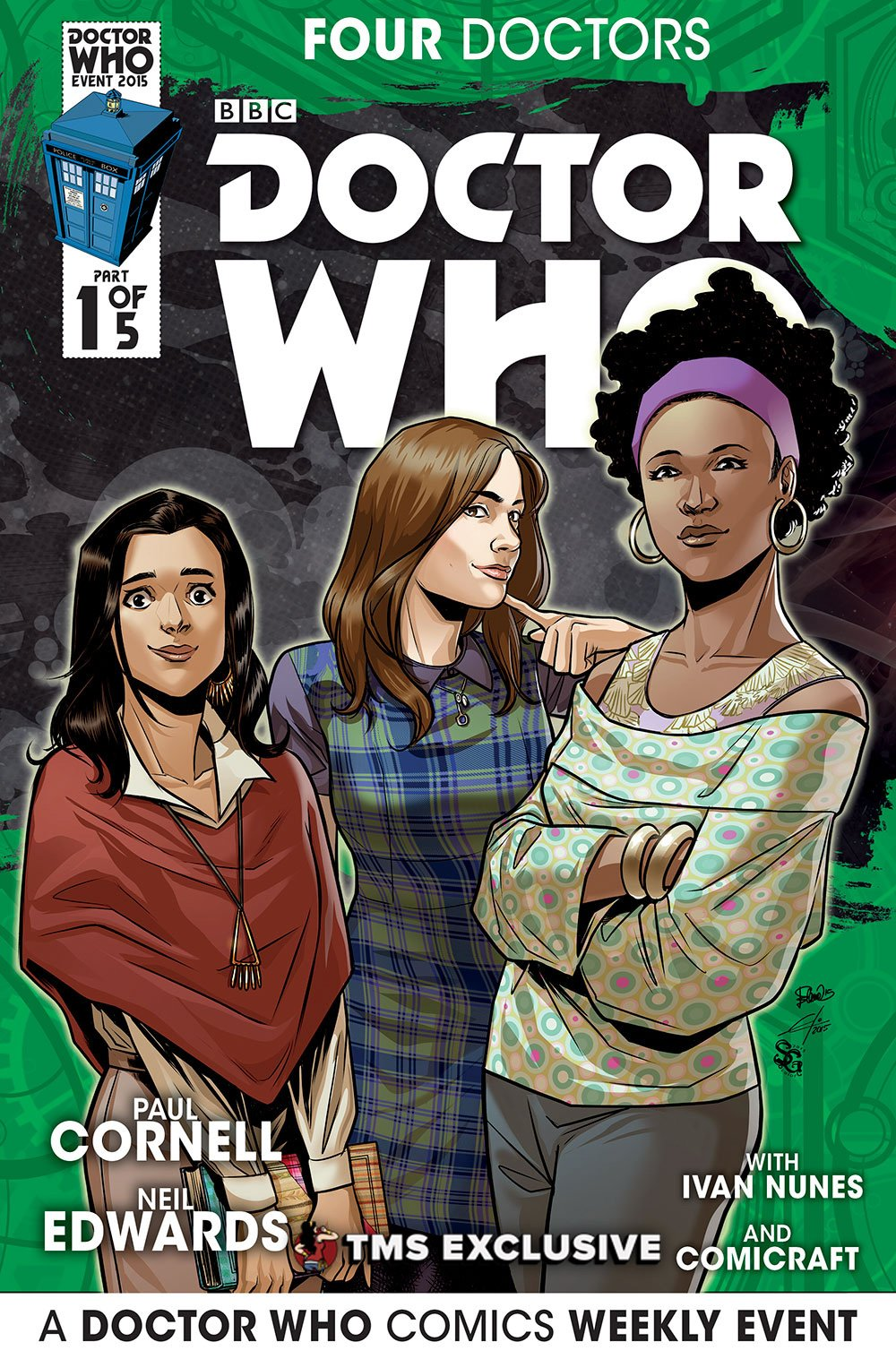 Exclusive Doctor Who Companion Comic Covers
