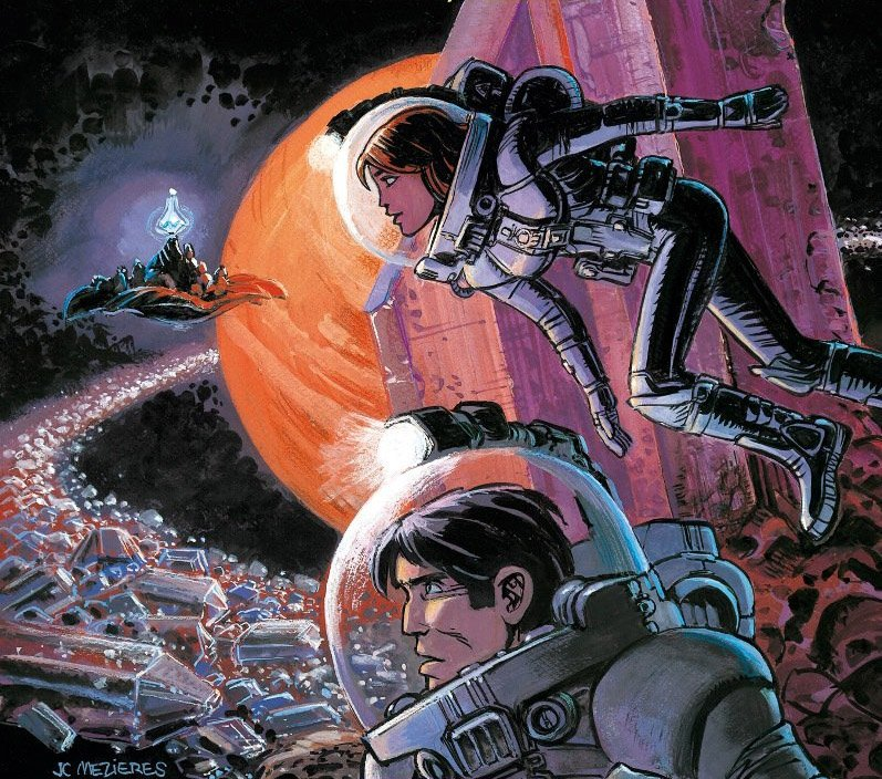 Science Fiction Graphic Novels: Besson Adapt French Sci-Fi Graphic Novel Valérian