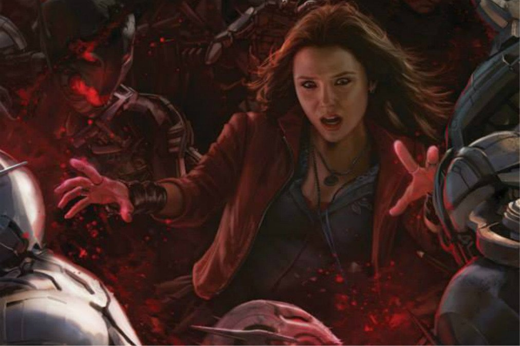 Review i actually really loved avengers age of ultron - Scarlet witch boobs ...