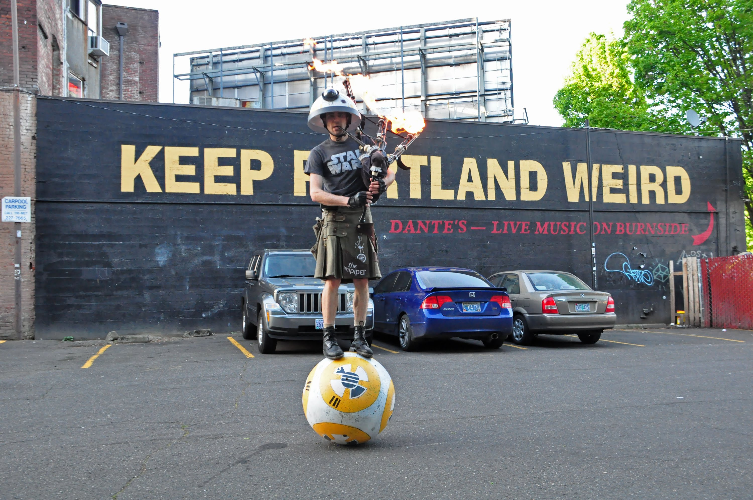 Keep Portland Weird Darth Vader 11