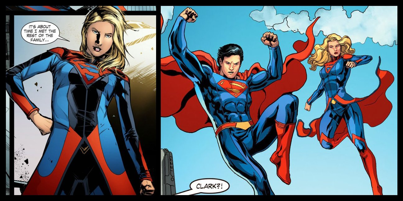 Smallville Season 11 Supergirl