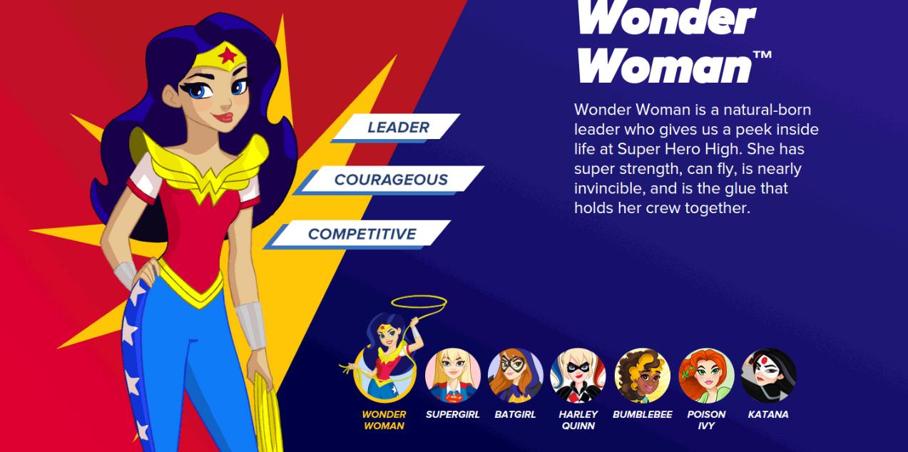 Unveils Interactive Look Super Hero Girls Line