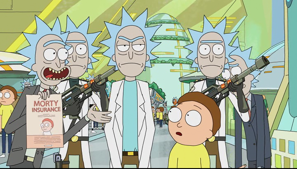 Rick and morty cartoon network sexual harassment