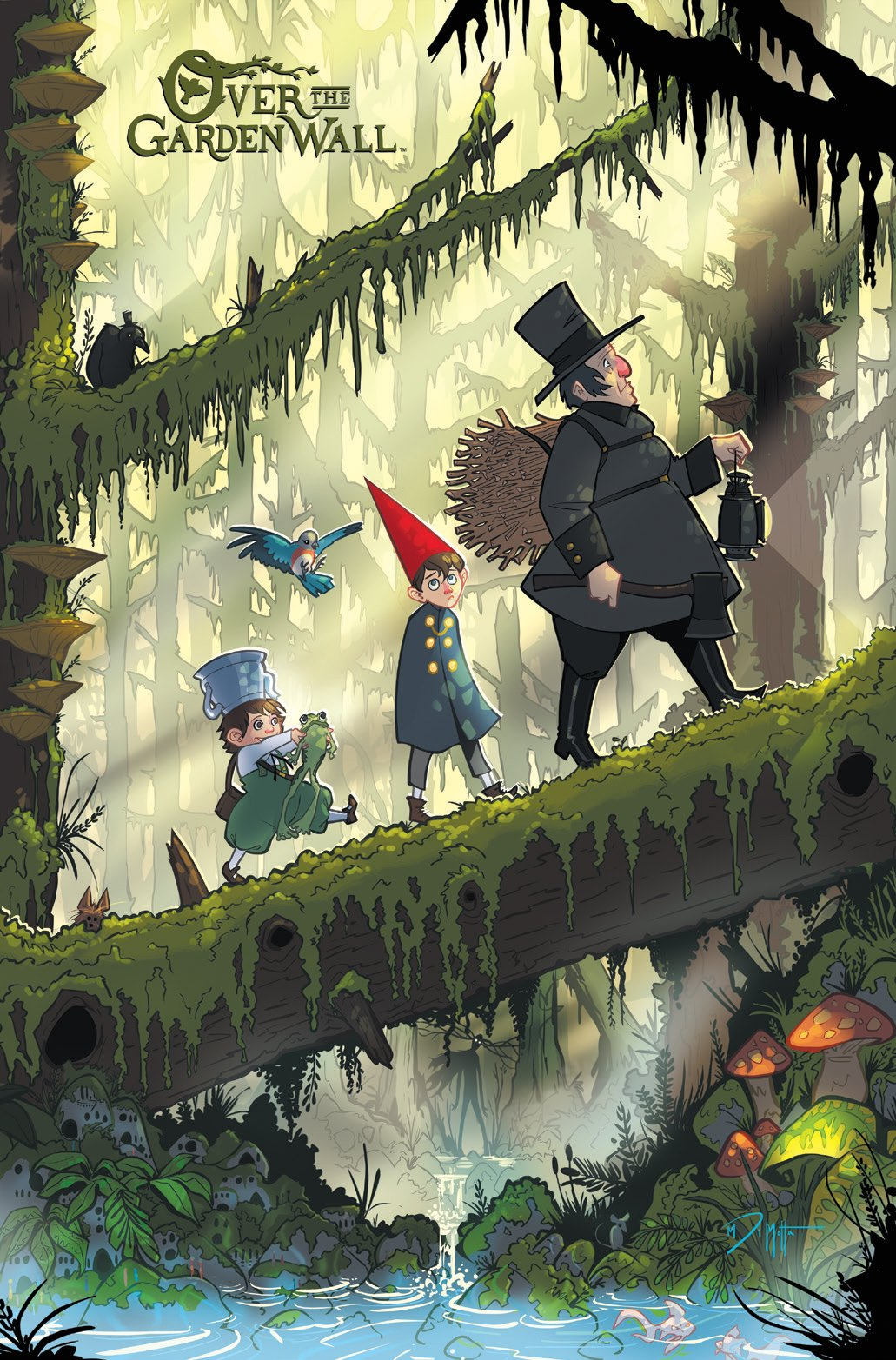 Make It Happen >> Over the Garden Wall Preview First Issue | The Mary Sue