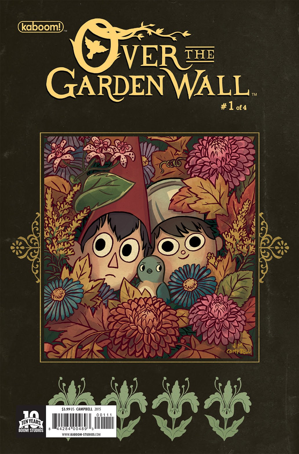 overthegardenwall_comic book cover - Over The Garden Wall Merchandise