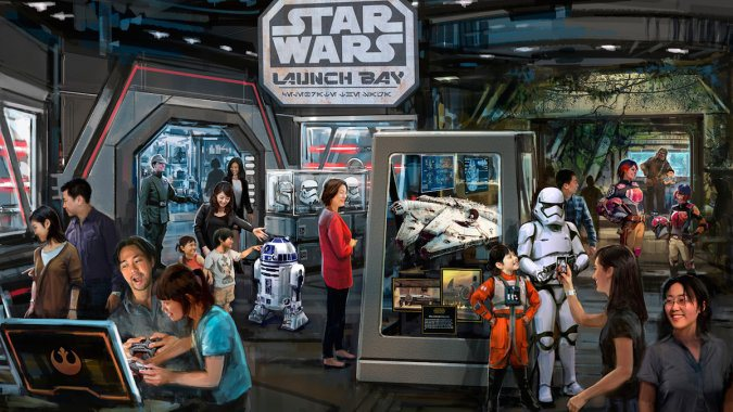 Check Out the Plans For Disneyland's Star Wars & Marvel Attractions