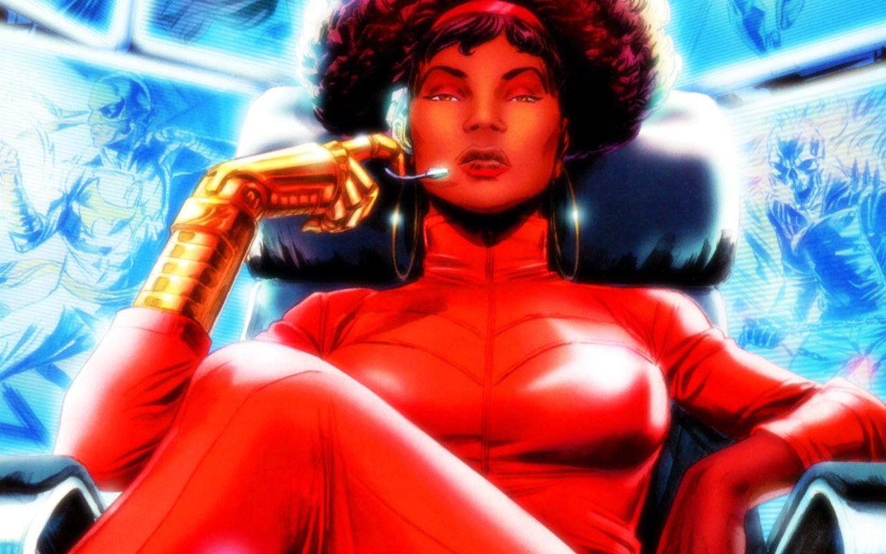 Préféré Luke Cage: Simone Missick As Misty Knight | The Mary Sue QY51