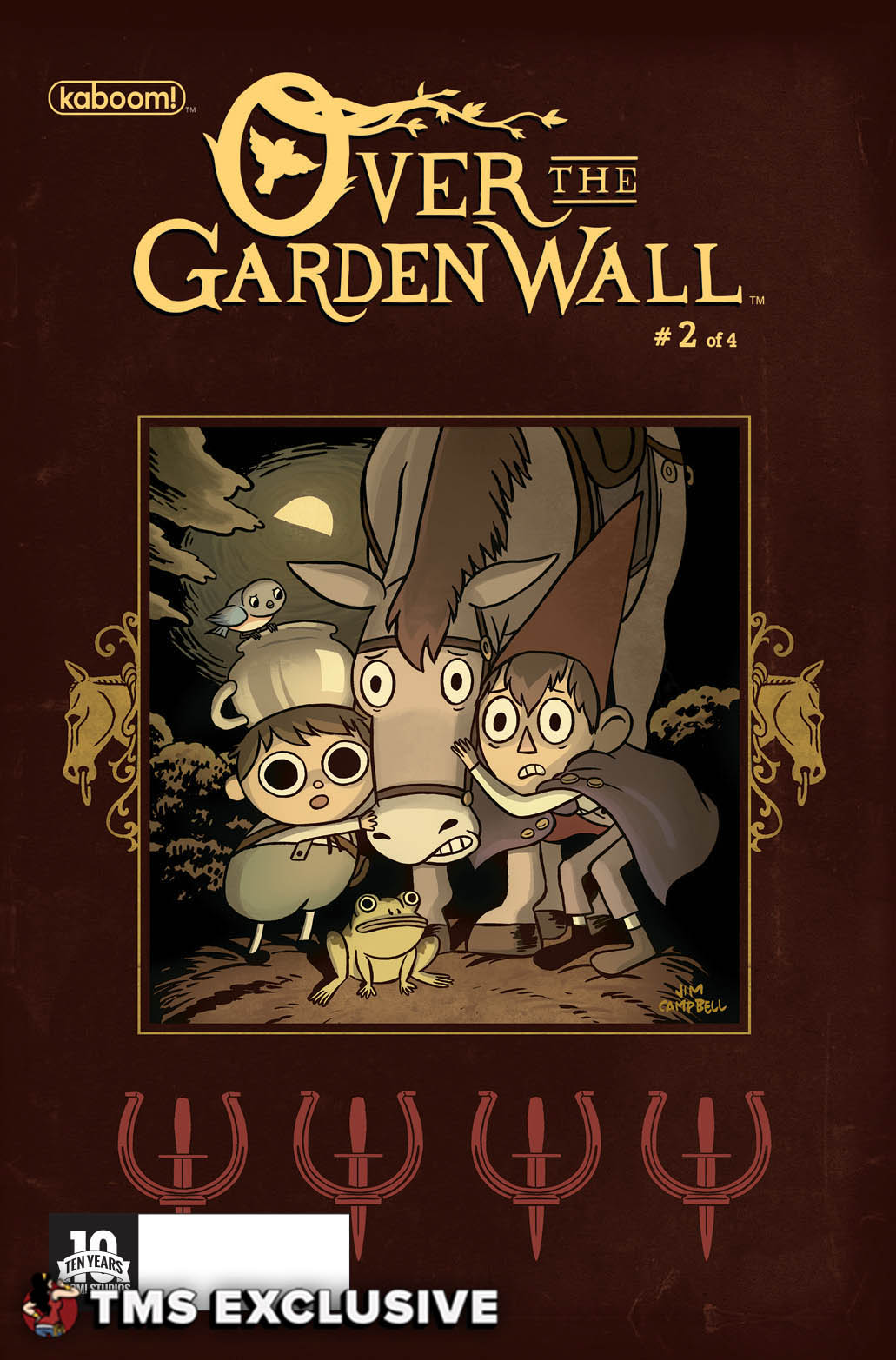 the mary sue exclusive preview over the garden wall 2 the mary sue - Over The Garden Wall Poster