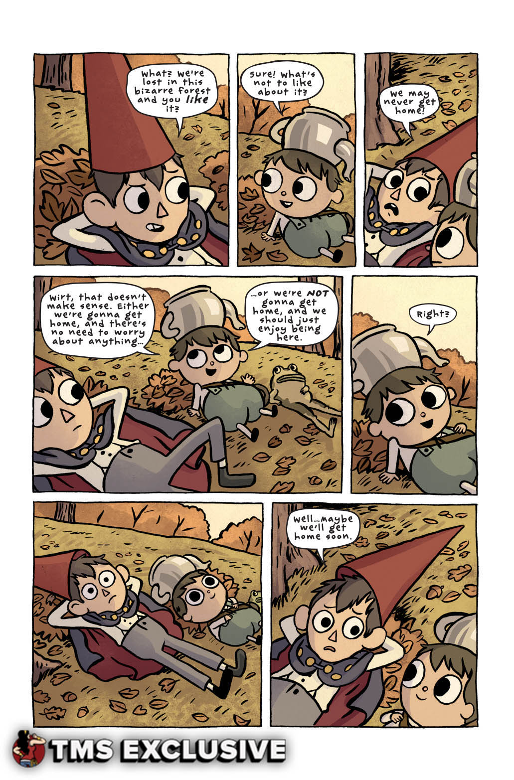 overthegardenwall_02_press 9 watermarked - Over The Garden Wall Comic