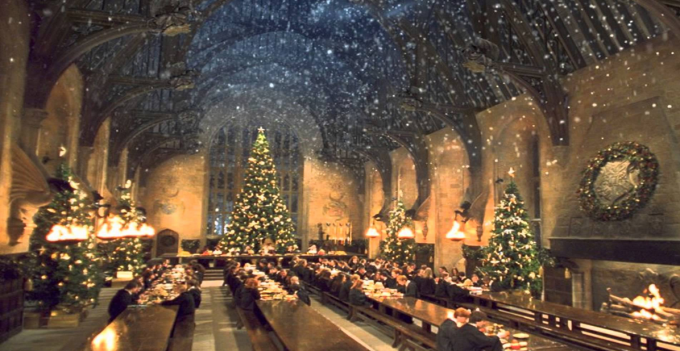 Harry Potter Fans Can Have Christmas Dinner In Hogwarts