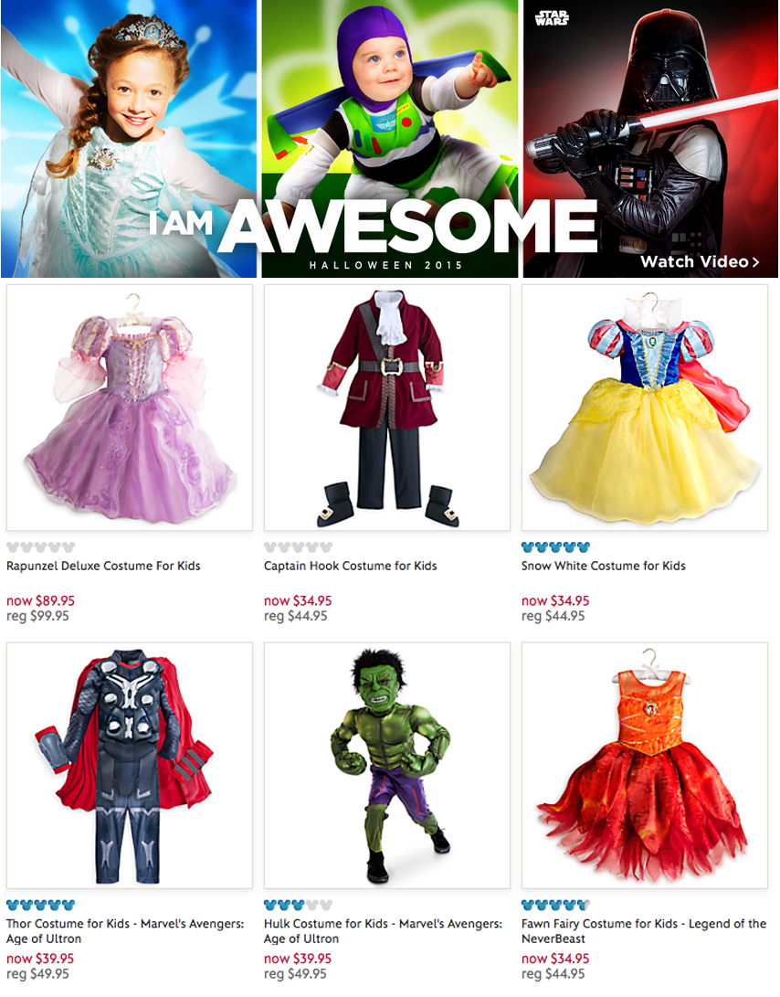 tumblr_nudqcxc36M1tdfdzlo2_1280  sc 1 st  The Mary Sue & Disney Store Removes Halloween Costume Gender Divide | The Mary Sue