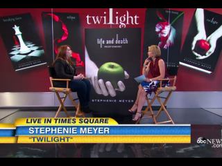 Stephanie Meyer reveals genderswapped Twilight book.