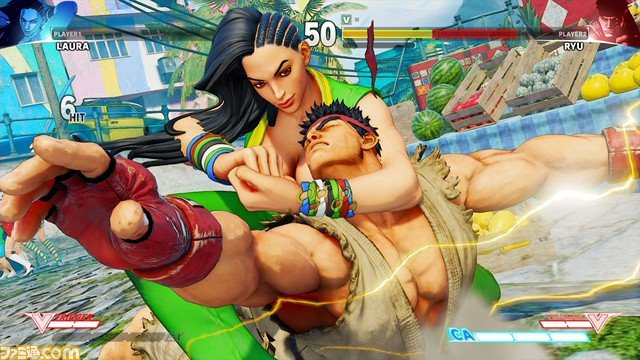Street Fighter V Announces Zangief, Leaks Laura   The Mary Sue