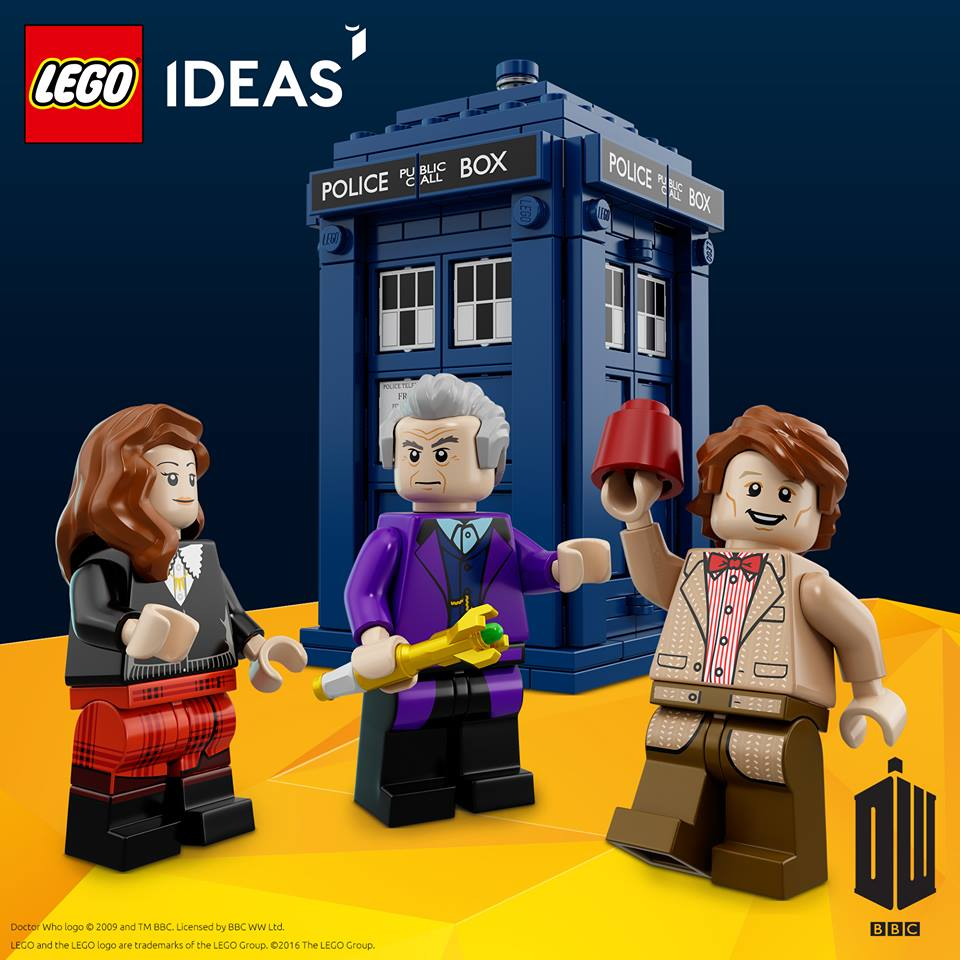 First Official Look At Doctor Who Lego Set The Mary Sue