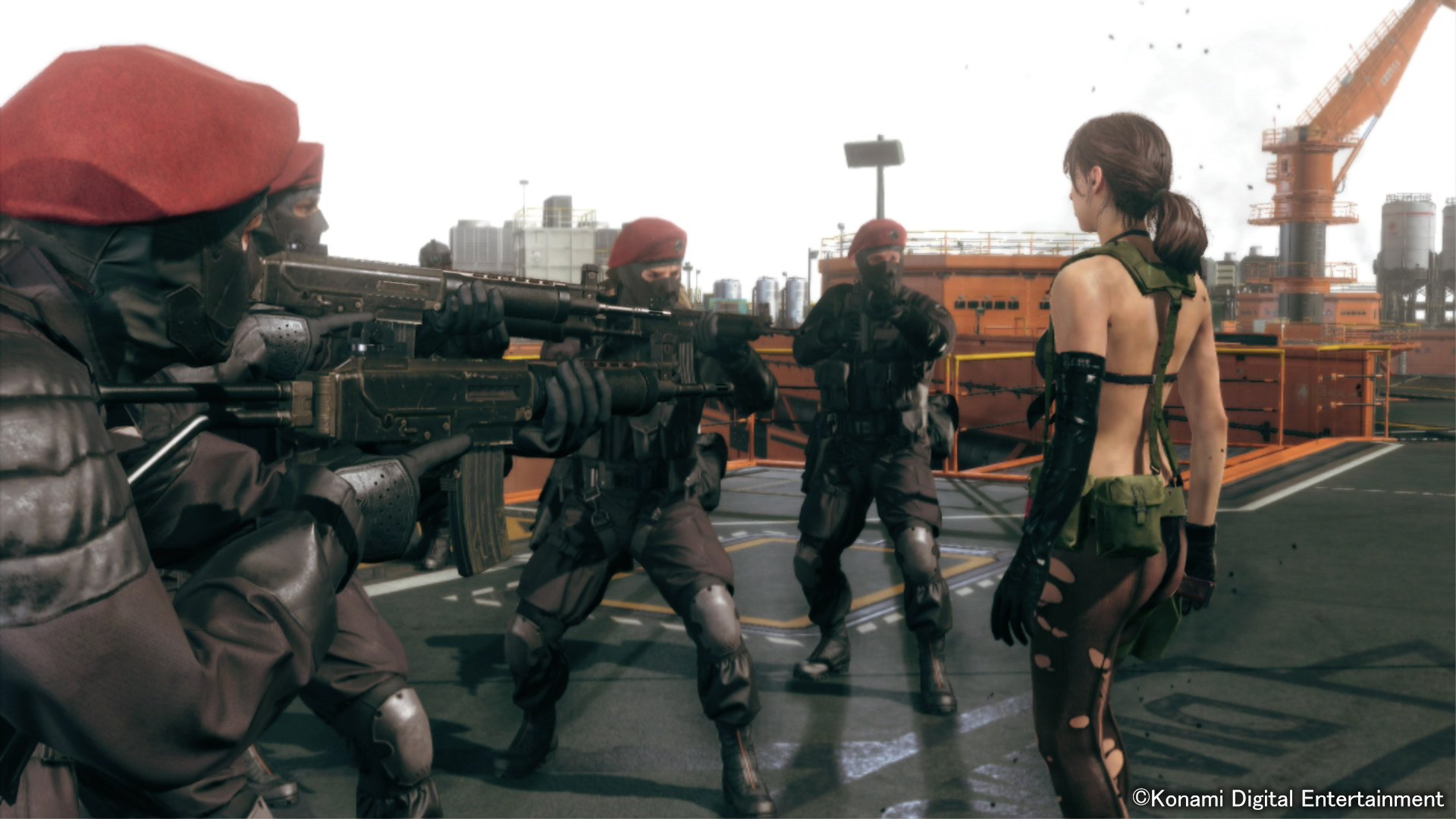 MGSV's Quiet & Parody, Sexiness, and Objectification | The