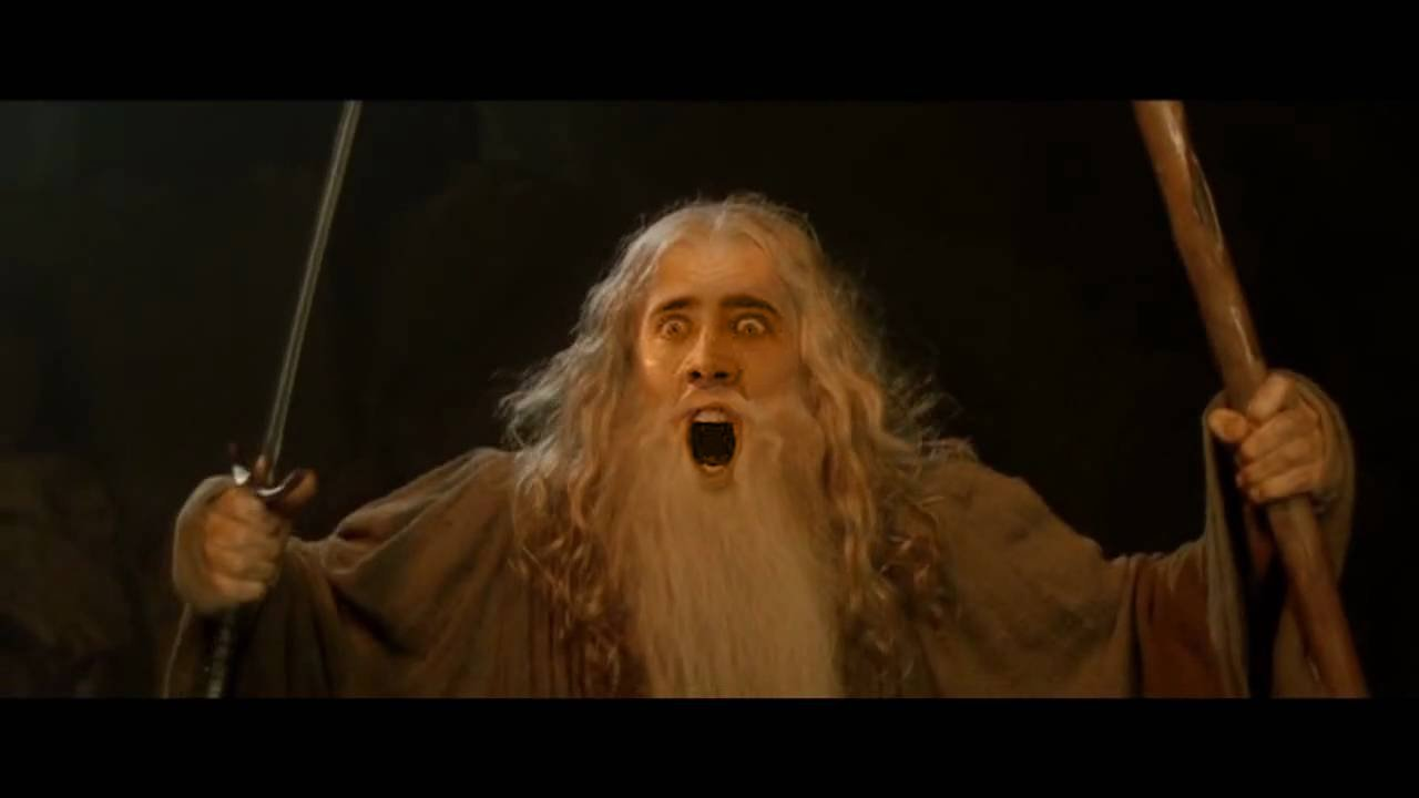 7 lord of the rings characters shouldve been nicolas cage the nicdalf you shall not caaaaaaaaast ccuart Images