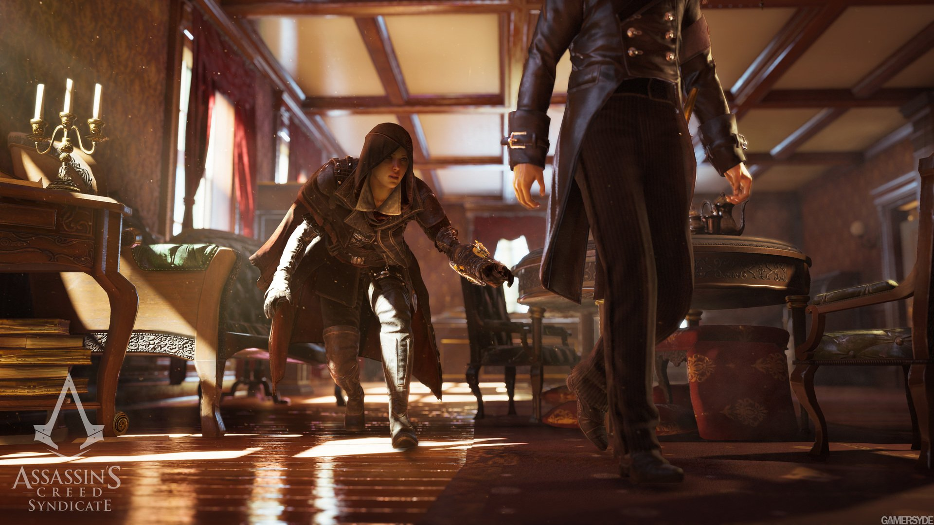 Assassin creed syndicate evie frye footjob