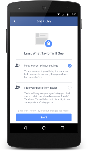 how to block tagged photos on facebook