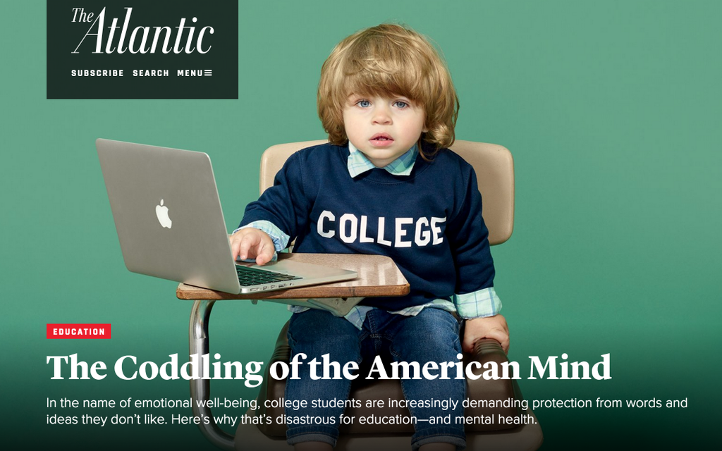 Educators Whine About Trigger Warnings at Colleges; and They Say Students Need Coddling?